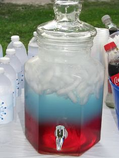 Delicious Drink Recipes: Fourth of July Punch