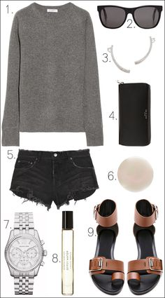MINIMAL + CLASSIC: Le Fashion Blog Outfit Collage Spring Transitional Look Casual Chic Minimal Cozy