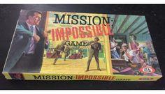Vintage Board Game 1966 Mission Impossible Spy CBS TV Ideal 100% Complete Ex++   eBay