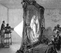 While the traditional lanternist made his optical device a centerpiece of the spectacle, in the phantasmagoria the technical apparatus was concealed.
