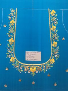Sudhasri hemaswardrobe Best Blouse Designs, Simple Blouse Designs, Silk Saree Blouse Designs, Bridal Blouse Designs, Blouse Neck Designs, Mirror Work Saree Blouse, Aari Work Blouse, Creative Embroidery, Hand Embroidery Designs