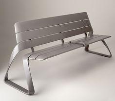 BMW Designworks USA.  Metro 40 Urban bench.