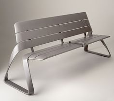 BMW Designworks USA. Metro 40 Urban bench.
