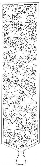 Karácsonyi filigrán ablakba - skkreativ.lapunk.hu  Great silhouette for a papercutting project.