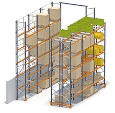 Conventional pallet racking | Pallet racking | www.mecalux.com