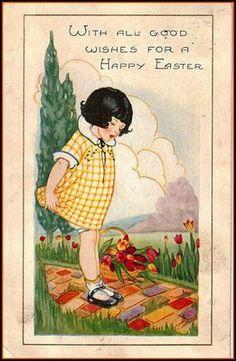 Little Girl Easter Greetings