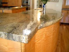 Granite countertop -- Curated by : Landmark Granite Inc. 690 McCurdy Road Kelowna, BC V1X 2P5 250-765-3545