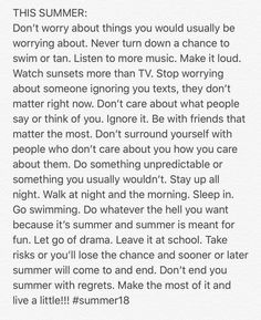 All Summer 18 Beau Message, Cute Quotes, Clipart, Beautiful Words, Positive Vibes, In This World, Summer Vibes, Wise Words, Just In Case