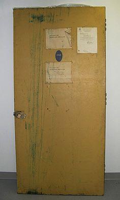 News Corporation News History Gallery: Steel door from the Watergate break-in.   Loan, Stephen W. Pace, Sr.