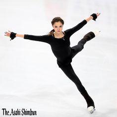 News Photo : Evgenia Medvedeva of Russia in action during a. Skates, Medvedeva, Cool Poses, Ice Skaters, Ice Princess, Women Figure, Hanyu Yuzuru, Figure Skating, Role Models