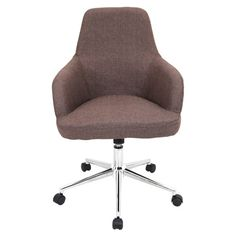 LumiSource Degree Adjustable Mid-Back Office Chair