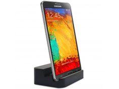 Dock Station d'accueil Noir laqué USB 3.0 - Audio pour Galaxy S5 / Note 3