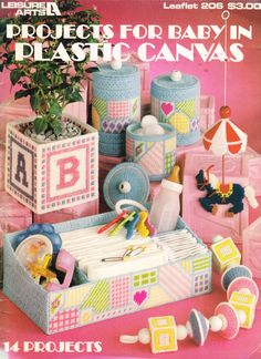 Projects For Baby in Plastic Canvas - Leisure Arts