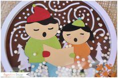 Christmas - Natale - PaperNova Design CRICUT CARD