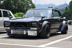 Nissan KGC10 Skyline at the Sagamiko Skyline & Kyusha Meeting
