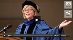 Smith College president Kathleen McCartney addresses School for Social Work graduates. [with video] http://www.smith.edu/video/president-mccartney-addresses-school-social-work-graduates