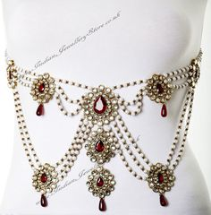 full torso sari belt