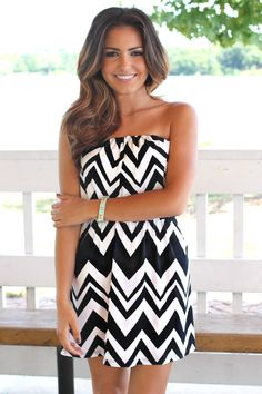 Chevron dress<3