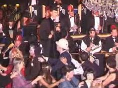 CONGA LINE AT THE CICADA CLUB HALLOWEEN PARTY - OCTOBER 2008