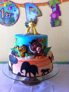The lion King cake!!
