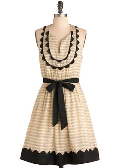The style of music dress