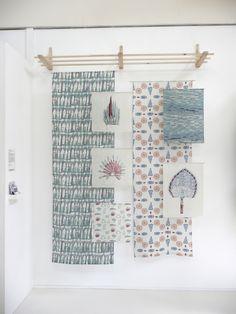 Degree Show Exhibition, Rivers' Archive by Rosie Holman. www.oakrose.co.uk
