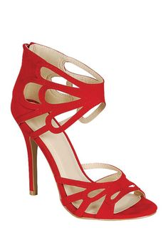 Cut out sandals / LILIANA