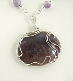 Amethyst Necklace by Desert Shine Jewelry
