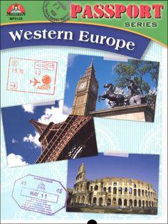 Passport Series: Western Europe | Main photo (Cover)