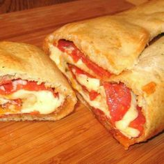 Stromboli....Here I come book club, sorry I didn't read the book!