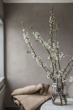 Faux Flowers, Dried Flowers, White Flowers, Beautiful Flowers, Deco Floral, Arte Floral, Scandinavian Style, Flower Power, Bouquet Champetre