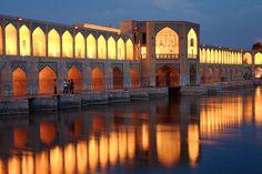 #Khajou Bridge, #Isfahan, #Iran