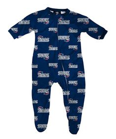 Look what I found on #zulily! New England Patriots Footie - Infant #zulilyfinds