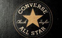 Converse All Star Chuck Taylor Gold Logo HD Wallpaper Widescreen High Quality