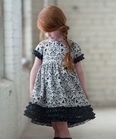 Another great find on #zulily! Navy Seraphina Dress - Infant, Toddler & Girls #zulilyfinds