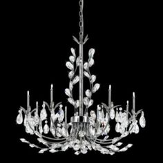 Giselle Chandelier by Eurofase - Just plain stunning and timeless
