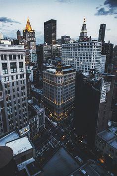 BIG CITY and lights