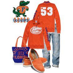 """University of Florida Gators"" Who said Florida girls dont wear Toms? Florida Gators Baby, Florida Gators Football, Sec Football, Florida Girl, Football Season, Gator Game, Old Hollywood Style, University Of Florida"