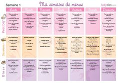 menu imprimer r gime thonon pdf a i m p r i m e r pinterest mode. Black Bedroom Furniture Sets. Home Design Ideas