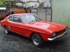classic ford capri Ford Roadster, Ford Capri, Collector Cars, Ford Trucks, Lincoln, Mercury, Antique Cars, Classic Cars, Collection