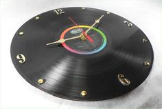 The BEATLES Recycled Record Vinyl Wall Clock  Sgt by itsourearth, $26.00