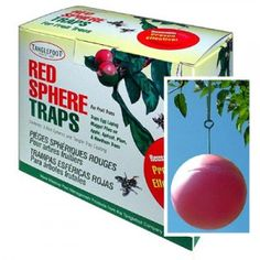 Tanglefoot RED Sphere Traps