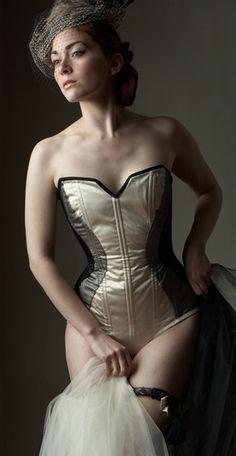 ce87bc973d1 Custom corsets from Dark Garden take your body back in time. If you d
