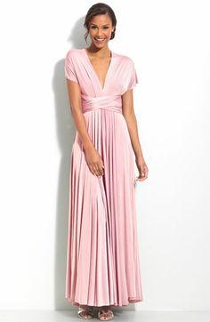 bde371809c6 bridesmaid dress twobirds Convertible Jersey Gown