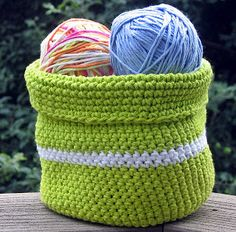 Make Your Own Crochet Basket   #crochet #handmade #basket