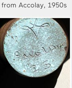 Accolay Pottery, France - VX mark