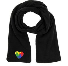 Embroidered AUTISM AWARENESS Puzzle Heart SCARF - Sharonsweb Autism Foundation #AutismAwareness #Scarf #josam1129 #EmbroideredAutismAwarenessScarf #AUTISMAWARENESS #PuzzleHeartSCARF #Sharonsweb #AutismFoundation #Scarf