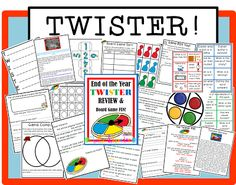 Twister Review and Game Board Day!
