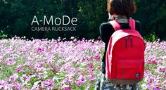 A02x Camera Backpack www.a-mode.hk