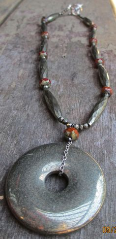 Urban Garden  Pyrite and Tomatos by kimhunt on Etsy